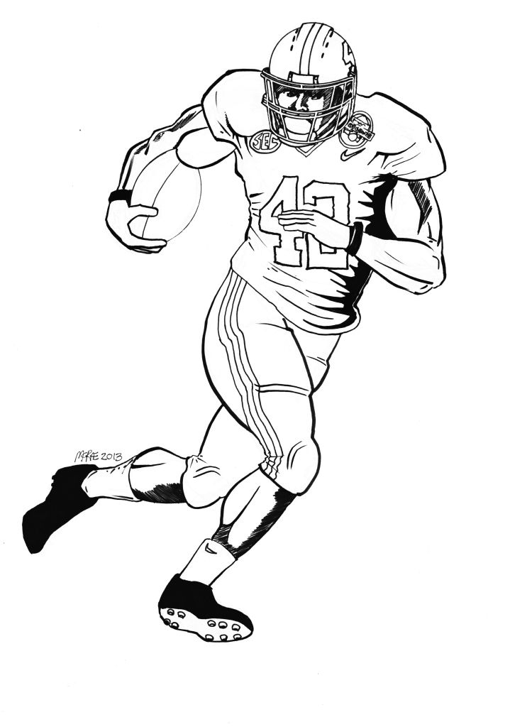 pauls blog nfl coloring pages - photo#24