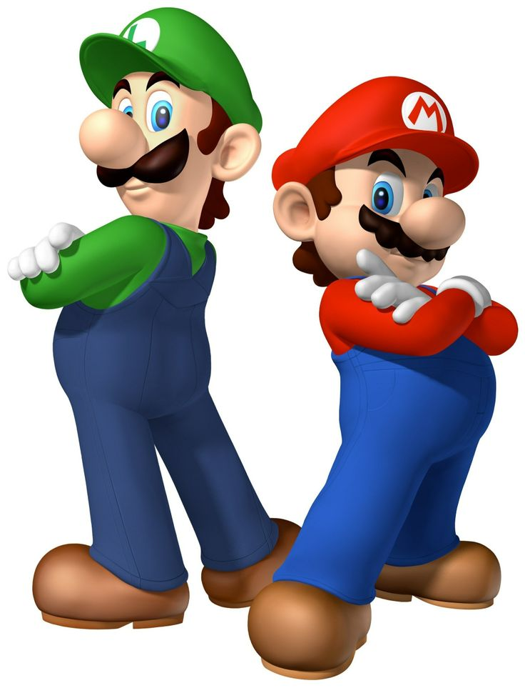 The best MARIO AND LUIGI | clip art | Pinterest