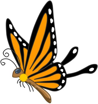 Free Clip Art Butterflies - Cliparts.co