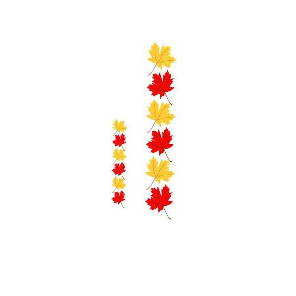 Fall Leaves Clipart Black And White Border | Clipart Panda - Free ...