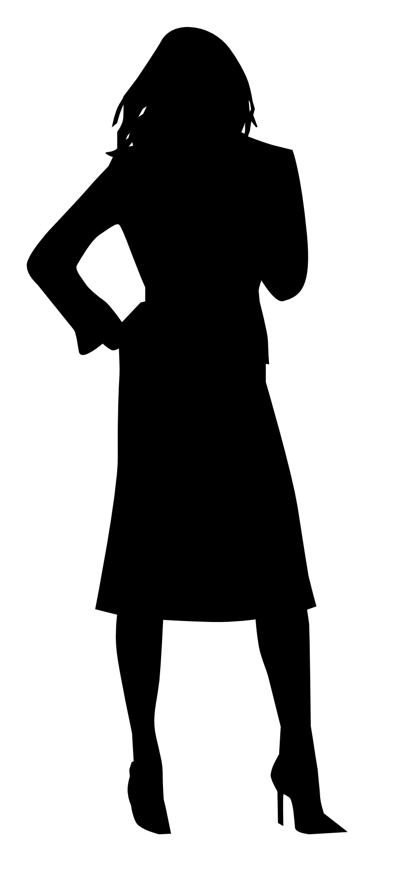 Woman Silhouette SVG - ClipArt Best - ClipArt Best