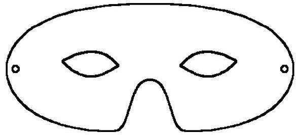 Masquerade Mask Templa...