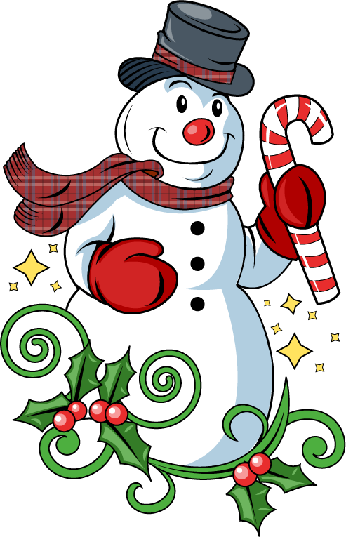 Free Clip-Art: Holiday Clip-Art » Christmas » Frosty the Snowman
