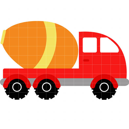 Cement Truck Clip Art - Cliparts.co