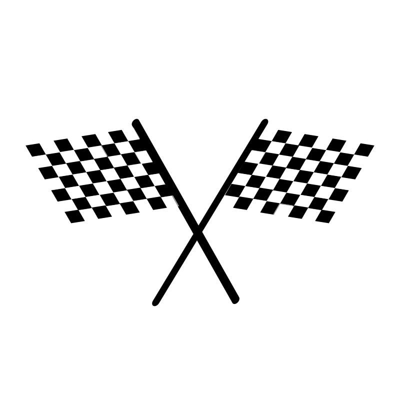 Clipart - netalloy chequered flag