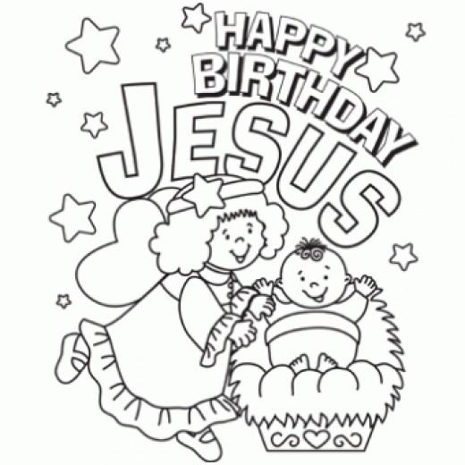 Clip Art Happy Birthday Jesus