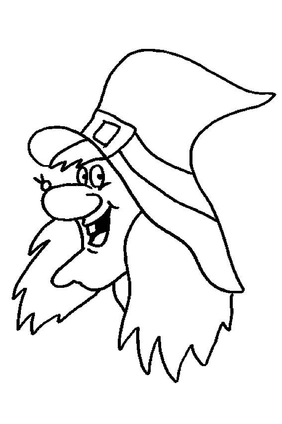 Halloween Coloring Pages From Monsters Witches Ghosts