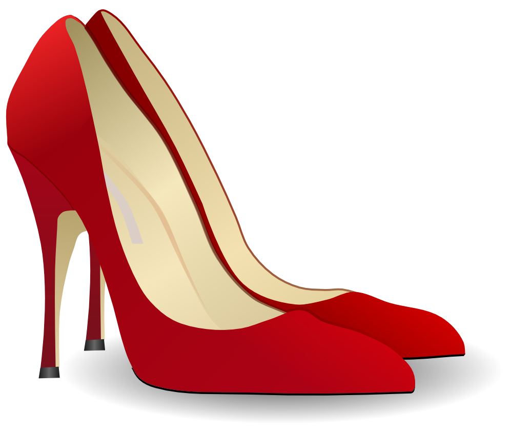 Trends For > High Heel Shoes Clipart