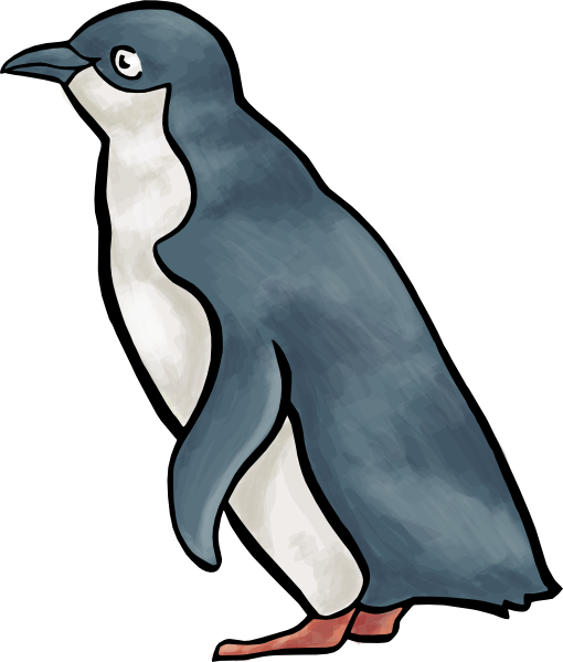 Cartoon Penguin clip art - vector clip art online, royalty free ...