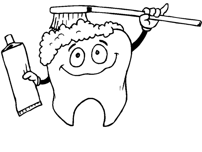 free coloring pages on hygiene - photo#24