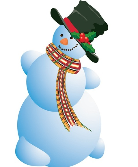 Snowman Graphic - ClipArt Best
