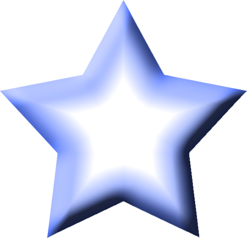 blue star clusters clip art - photo #13