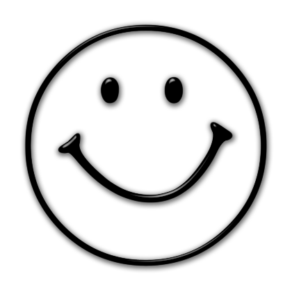 Happy Face Clip Art Black And White | quotes.