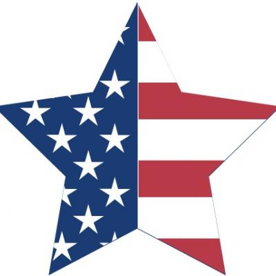 Patriotic Star Clipart {Fourth of July} - Tip Junkie