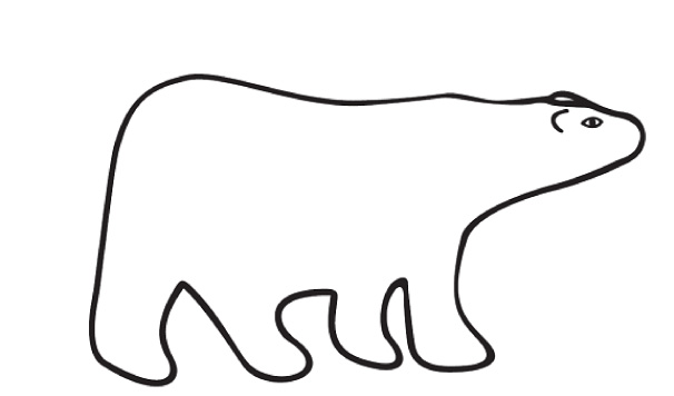 Drawing Lines With Polar Tracking : Polar bear clipart free cliparts