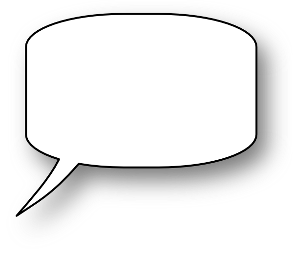 Speech Bubble clip art - vector clip art online, royalty free ...