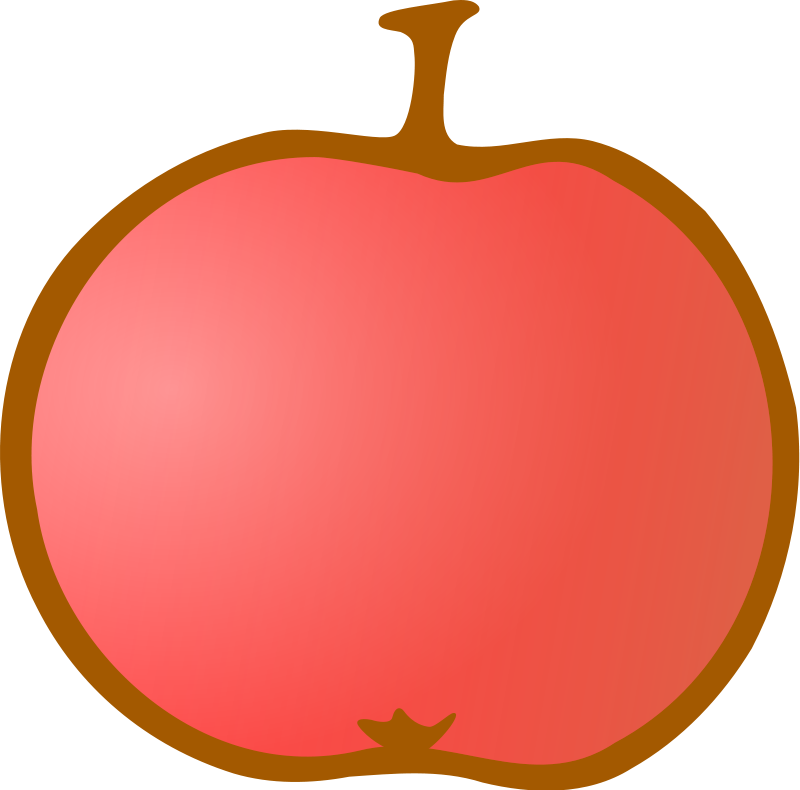 clipart apple worm - photo #22