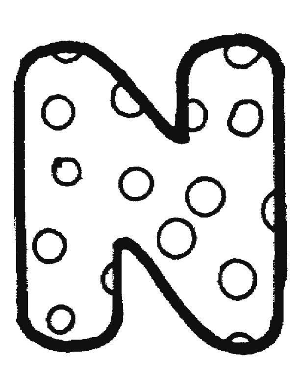 Kleurplaten Letter W.Alfabet A Images Cliparts Co
