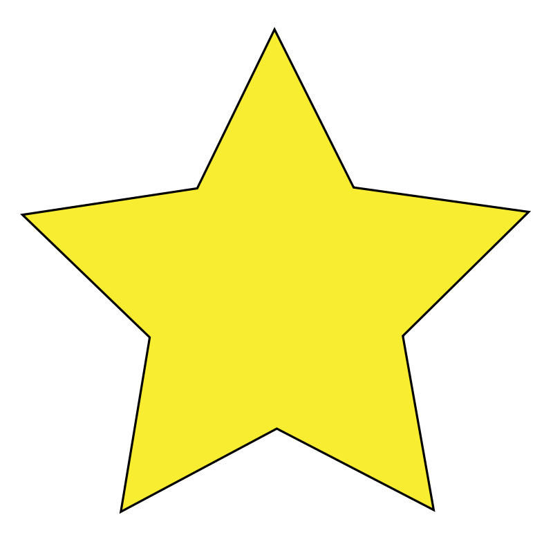 Clipart - Simple Star
