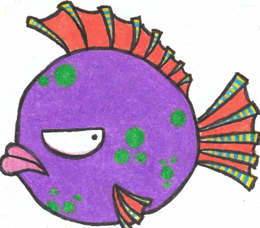 Oscar The Mad Fish By Chocolatte Love28 On Deviantart