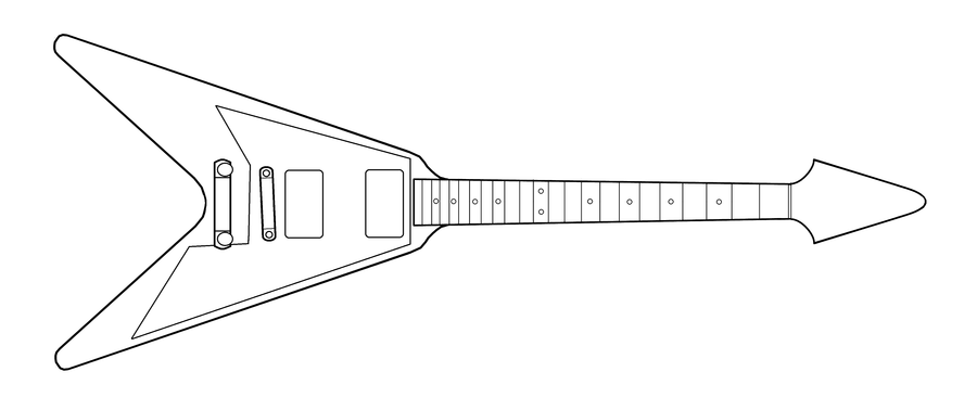 Wing Vector Guitar Fire.png - Cliparts.co