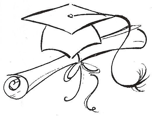 Graduation Cap Drawing Cliparts Co