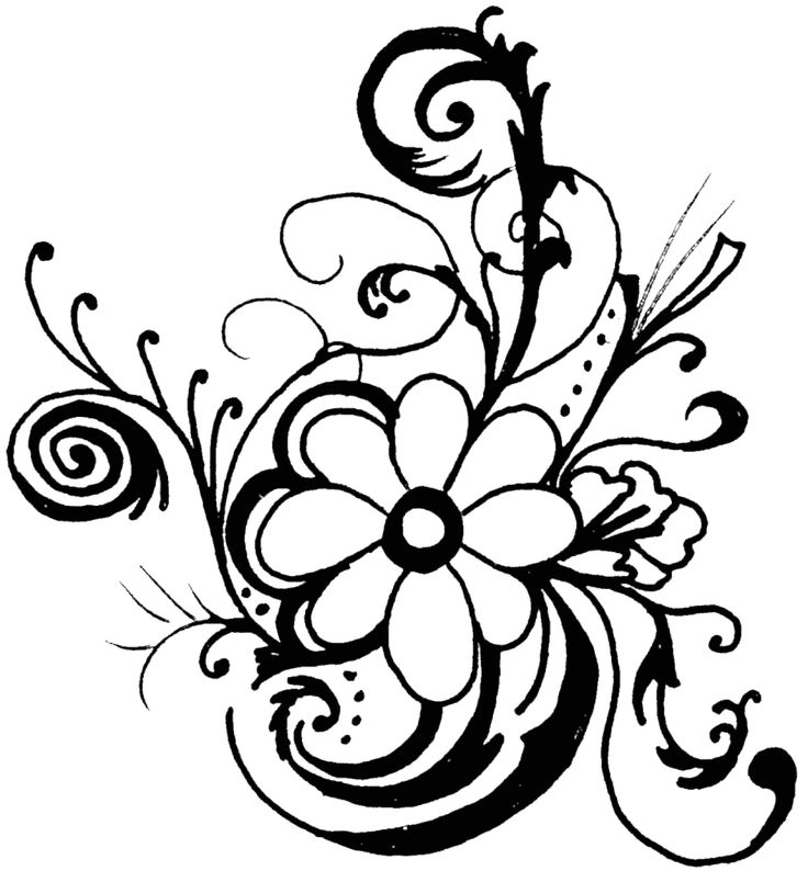 Free Clipart Of Flowers - ClipArt Best | ¤•flowers•¤ | Pinterest