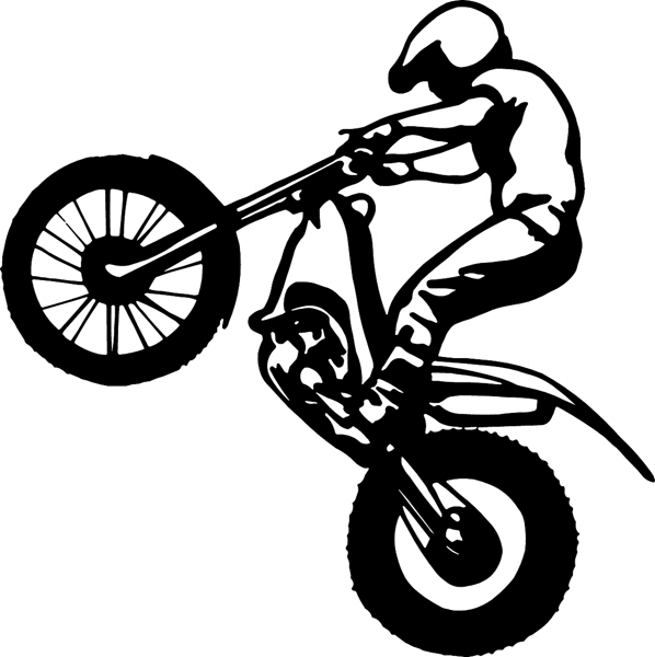 Pix For > Cartoon Dirt Bike
