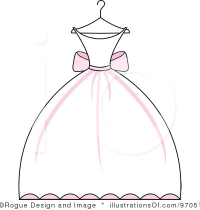 Wedding Dress Clipart - Cliparts.co