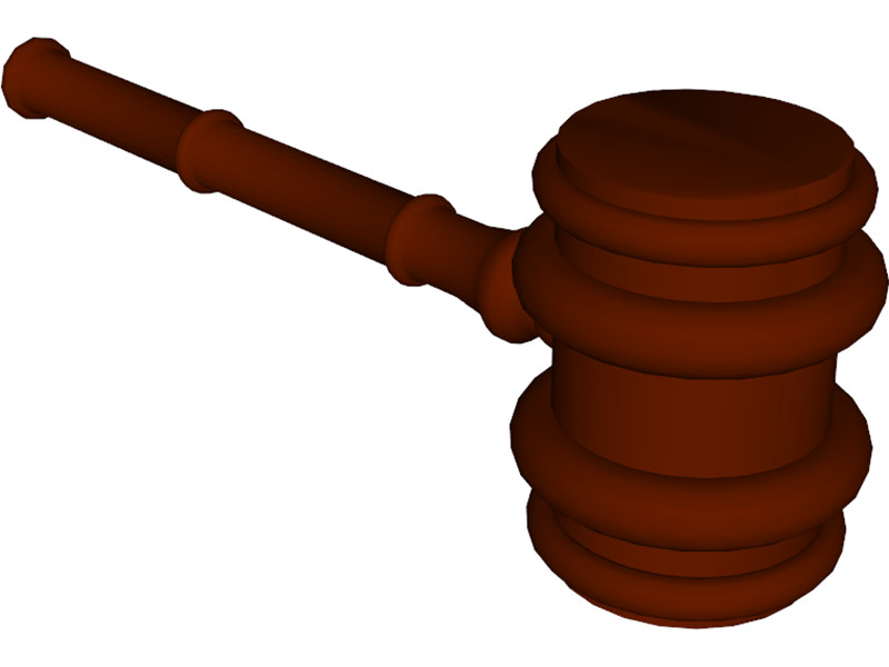 Gavel 3D Model Download | 3D CAD Browser