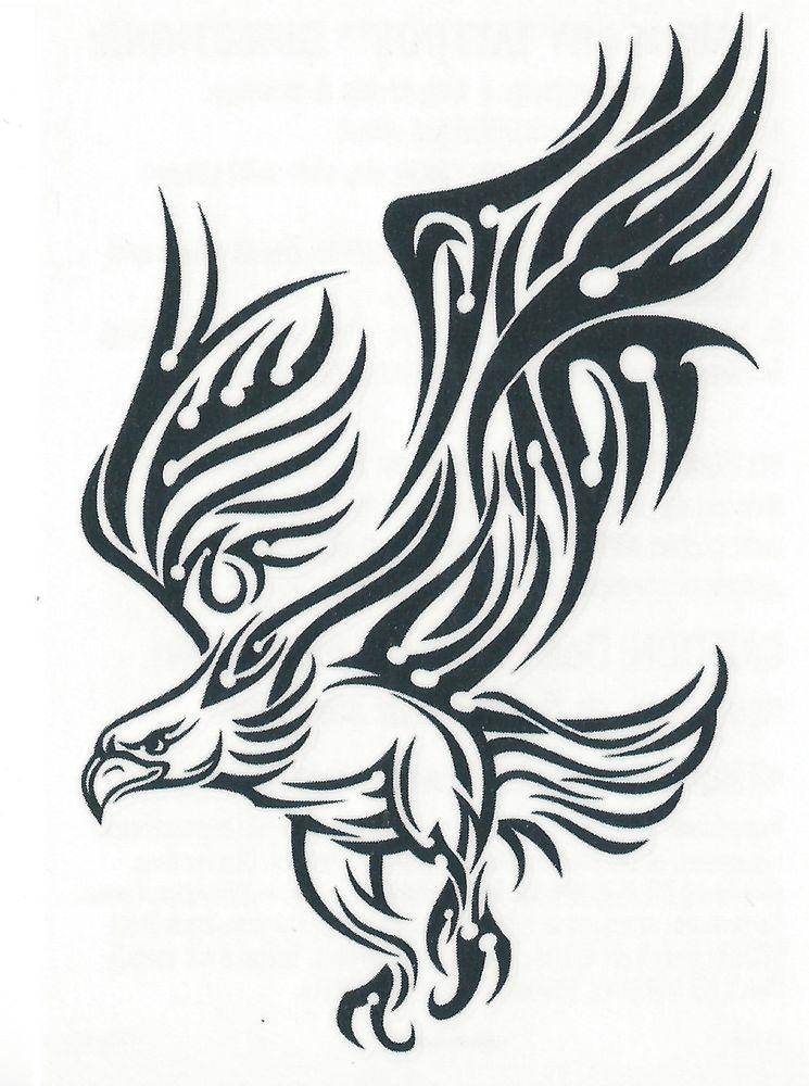 Tattoo aigle royal tribal tatouage - Comment dessiner un aigle royal ...