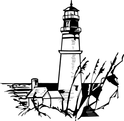 Free Stock Photos | Illustration Of A Lighthouse | # 6980 ...