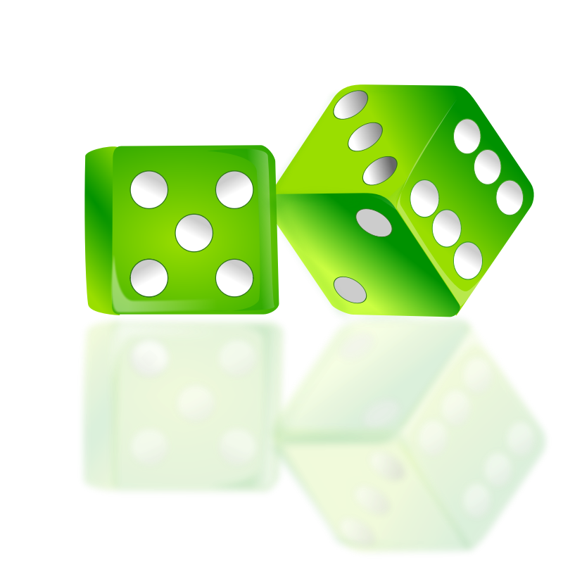 Clipart - Dice Icon by netalloy