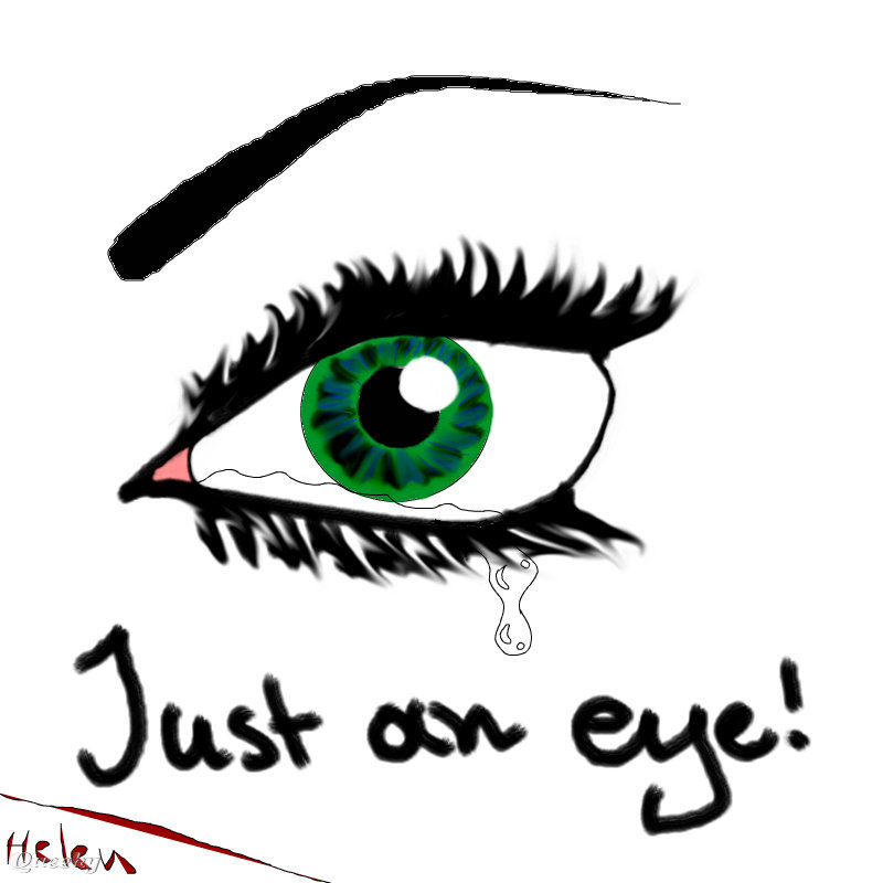 Eye crying ← a people drawing by Eleni1989 . Queeky - draw online.