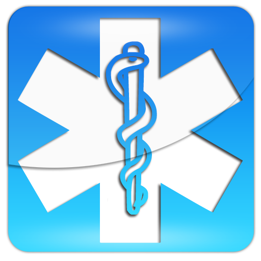 Blue star of life square clipart image - ipharmd.net