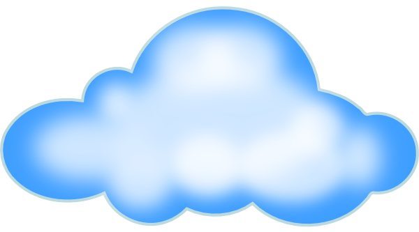 Cloud clip art - vector clip art online, royalty free & public domain