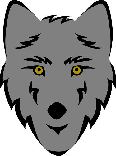 Gray Wolf Clip Art | Clipart Panda - Free Clipart Images