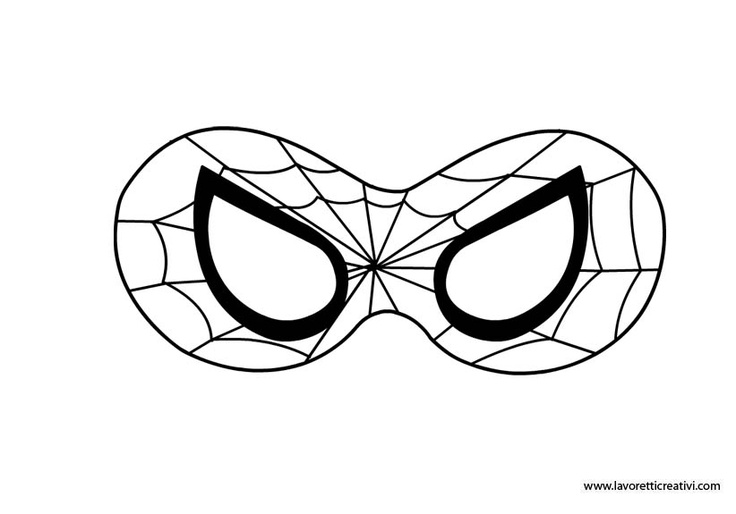 19  Printable Spider Mask   Gallery For Gt Spiderman Face