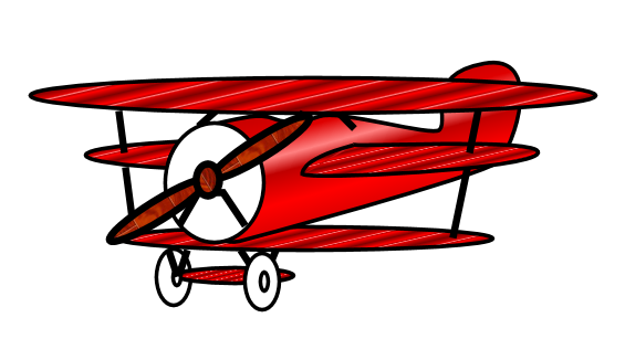 Old Fashioned Plane Clipart - ClipArt Best