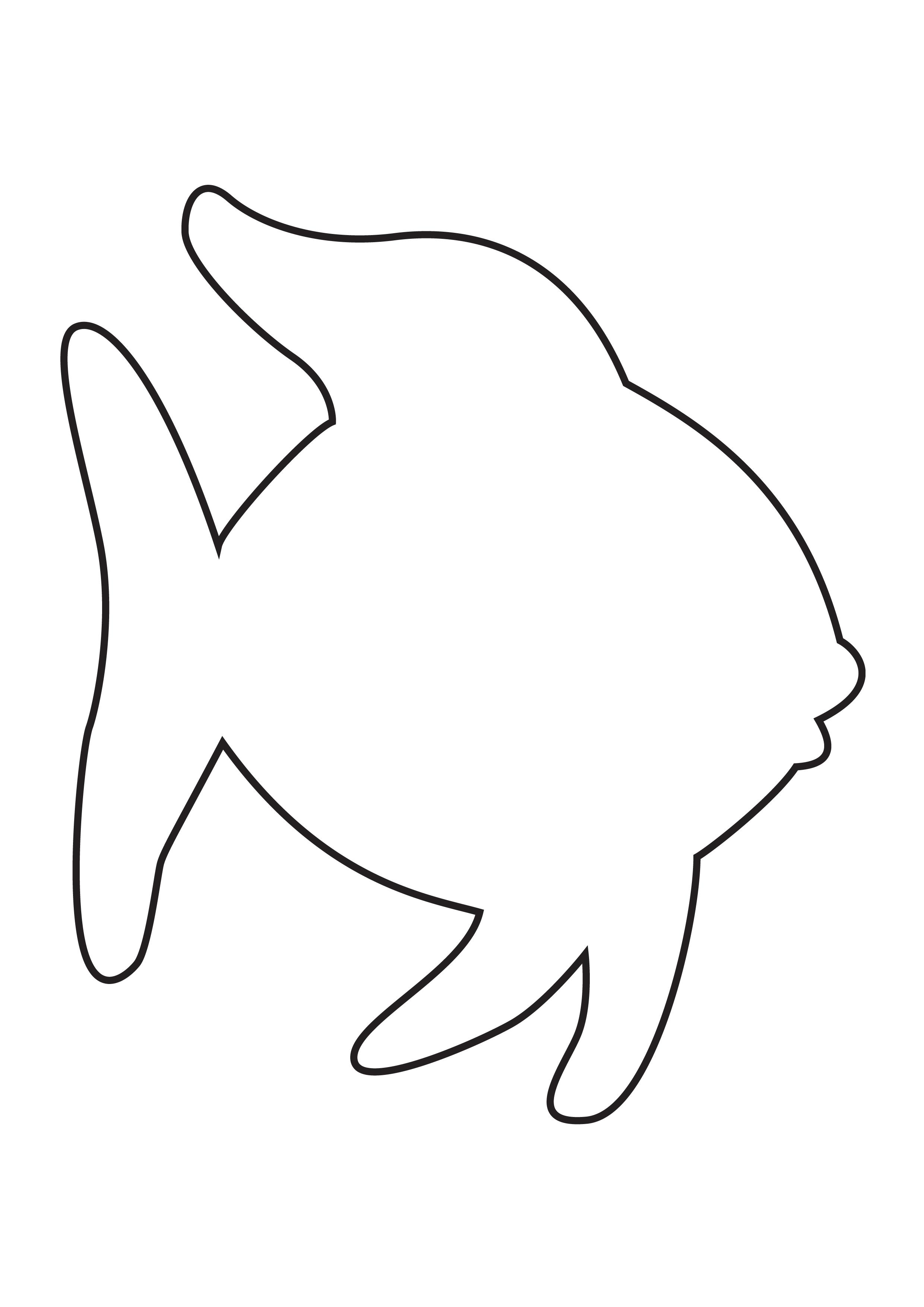 Clipart Fish Outline
