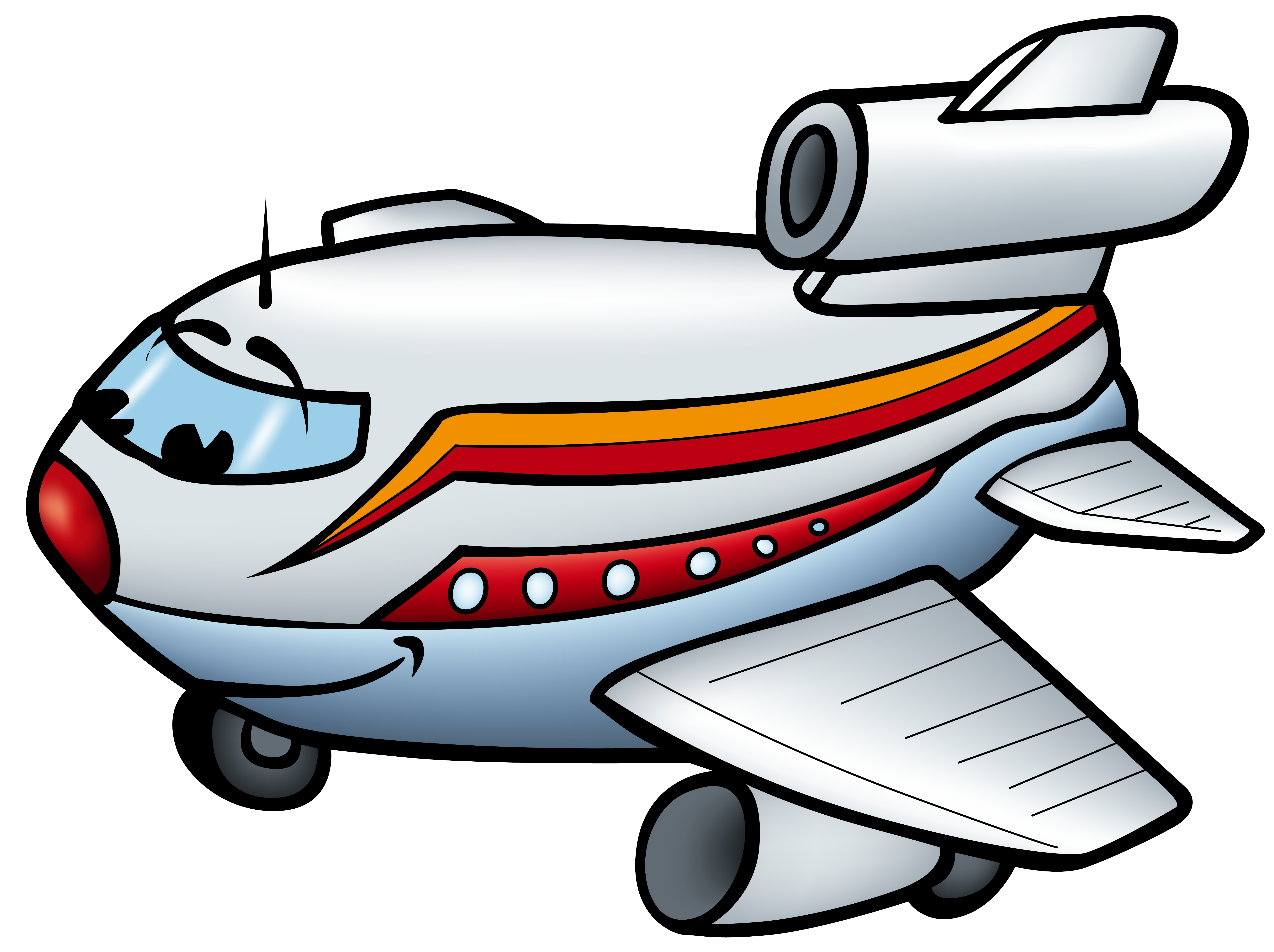 cartoon airplane clipart - photo #16
