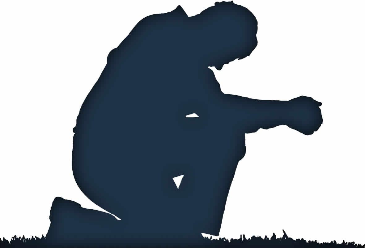 People praying clipart