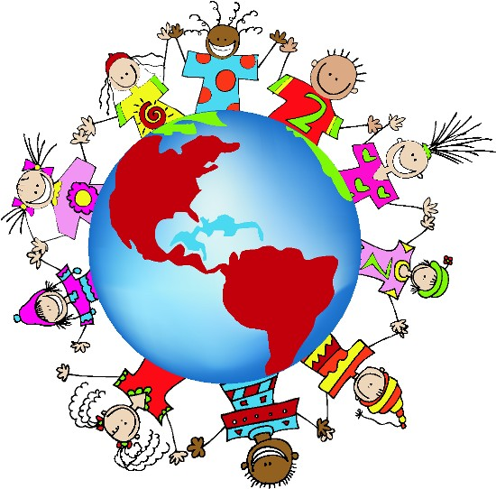 PAGE 2 - MULTICULTURAL: FRIENDSHIP GLOBE ART + BORDER GRAPHICS for ...