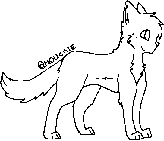 Warrior Cats Coloring Pages Kittens She Cats
