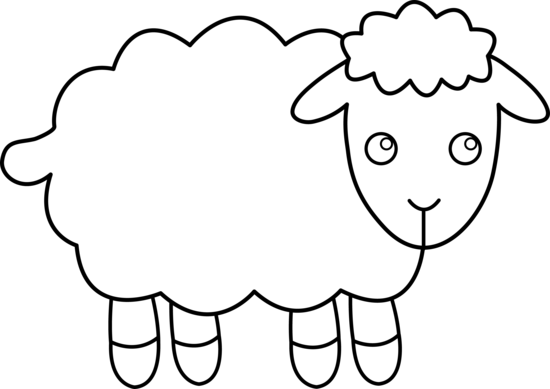 Lamb Clip Art Black And White | Clipart Panda - Free Clipart Images