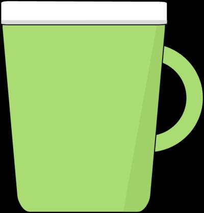 Green Coffee Mug Clip Art - Green Coffee Mug Image