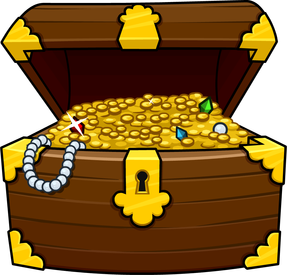 Images For > Treasure Chest Clip Art