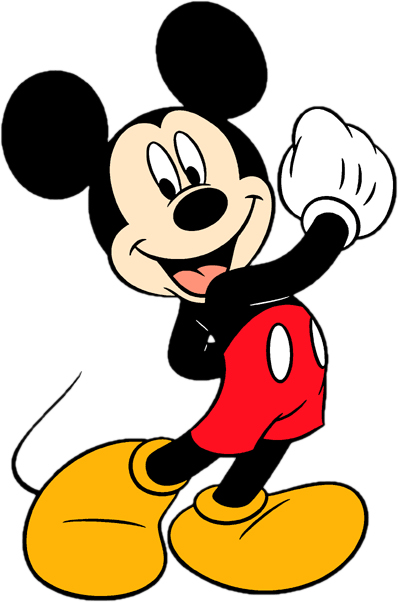 Baby Mickey Mouse Clipart Black And White   Clipart Panda - Free ...