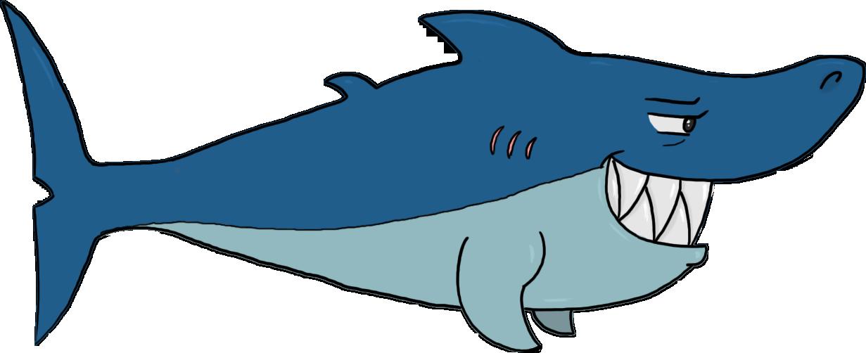 free animated shark clipart - photo #50