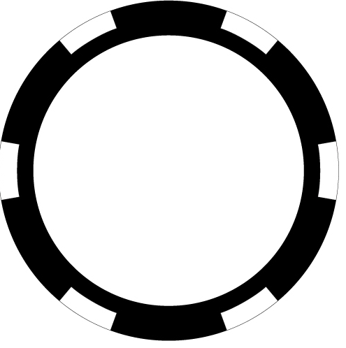 Poker Chip Graphic Design